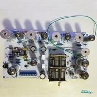 IWISTAO трубки FM стерео радио тюнер готовые PCBA предусилитель версия не включая мощность трансформатор HIFI аудио В 110 В в/220 В DIY