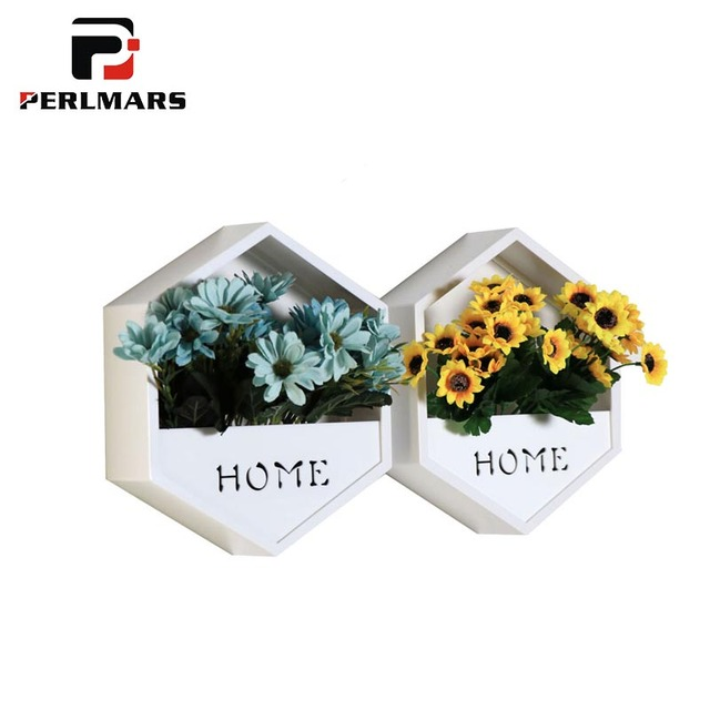 Modern style wall vase acrylic black white flower vases household modern style wall vase acrylic black white flower vases household decoration ornament crafts artificial flowers holder mightylinksfo