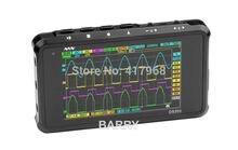 Sale Mini DSO203 DS203 digital Oscilloscope ARM Nano portable 8MHz bandwidth 4 Channels arm Cortex M3 CPU with Aluminum Meter Case