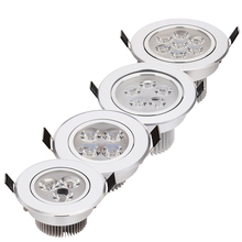 Recessed led downlights 2pcs/lot