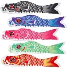 70cm Japanese Carp Windsock Streamer Fish Flag Kite Koi Nobori Koinobori HC6U Drop shipping