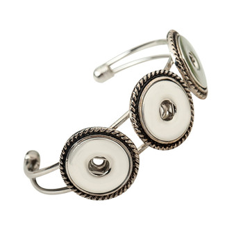 SMB18-86 Hot seller High Interchangeable snap jewelry for ginger snaps bracelet in charm bangel fit 18-20mm snaps buttons