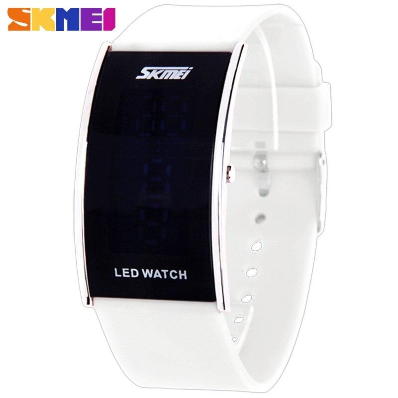 SKMEI Marque LED Numérique Étanche Mens Montre Hommes Montres de Sport De Mode En Plein Air Occasionnels Femmes Militaire montre numérique-montre