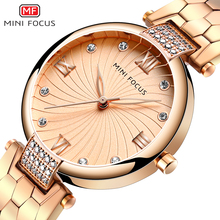 MINIFOCUS Brand Luxury Fashion Women Quartz Watches Ladies Dress