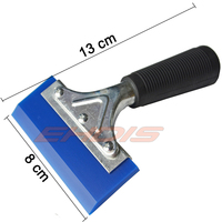 Rear Window Water Cleaning Rubber Squeegee