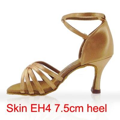 21Tyles High Quality Satin Ladies Latin Dance Shoe Kvinder Ballroom - Kondisko - Foto 4