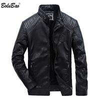 BOLUBAO Brand Leather Jacket Men 2019 Winter Motorcycle Men's Leather Jackets Coats Male Bomber Jackets Outerwear