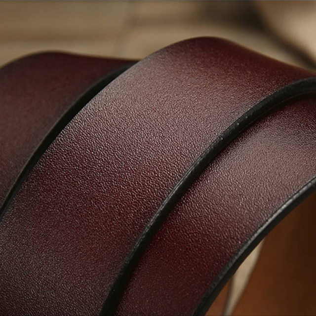 Genuine leather strap luxury strap belt 3