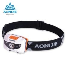 AONIJIE LED Headlight Headlamp Waterproof Adjustable Flashlight Light For Running Fishing Camping Hiking Cycling