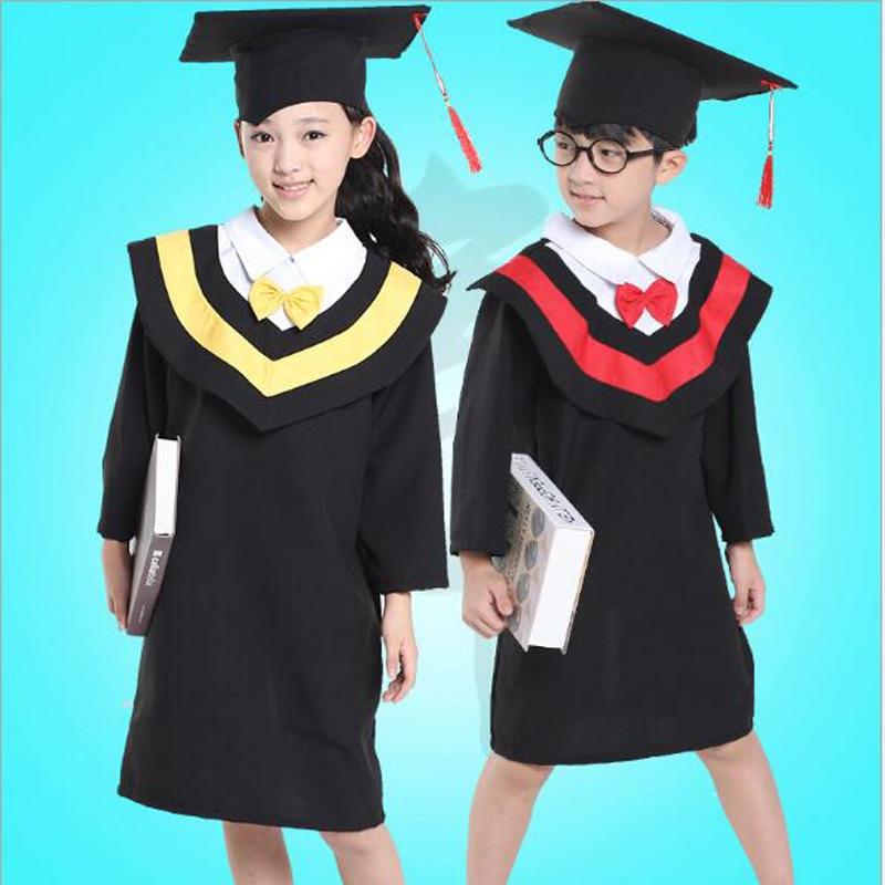 11.11 Children Performance Clothing Academic Dress Gown Kindergarten ...