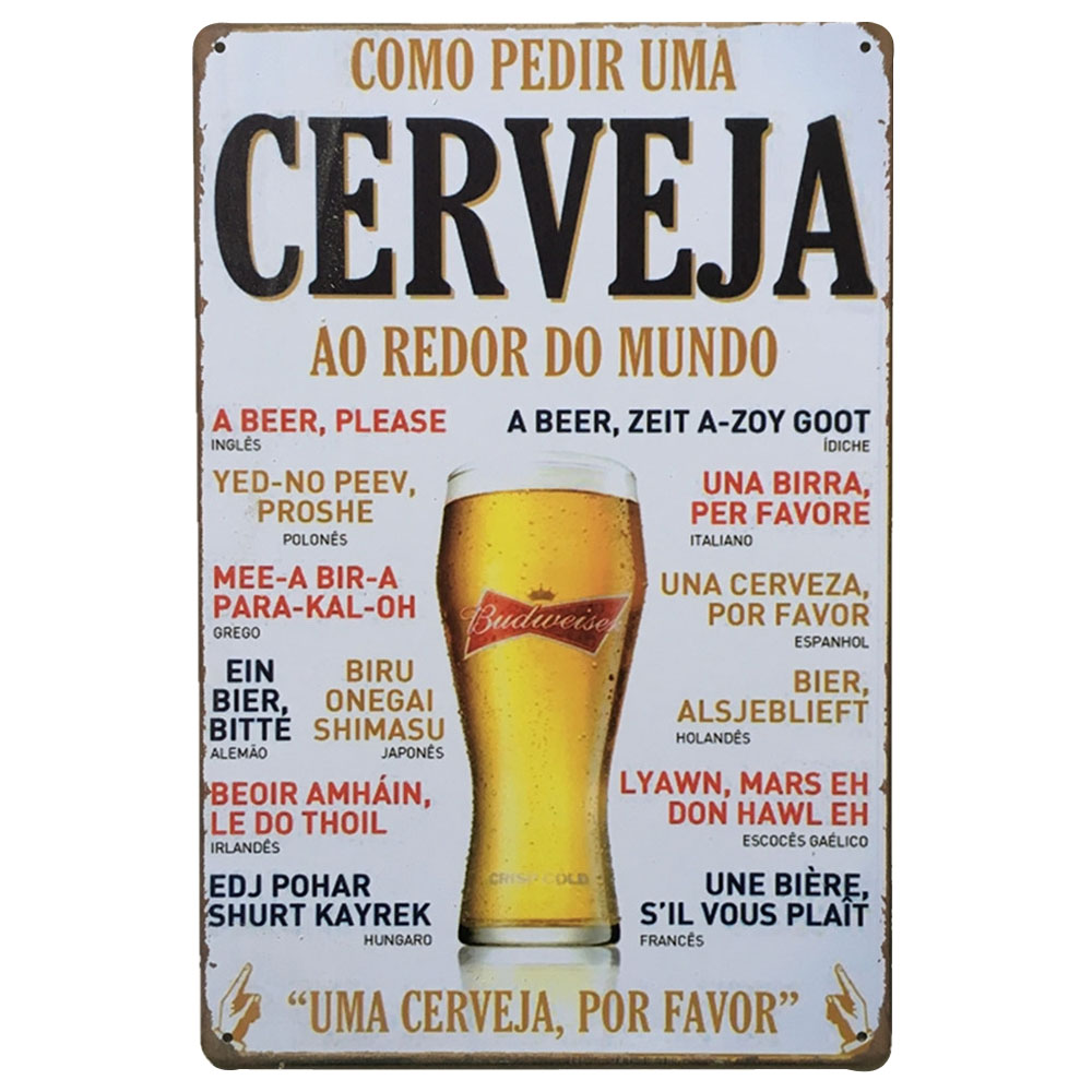 DORADA BEER LA CERVEZA BEER METAL TIN SIGN POSTER WALL PLAQUE