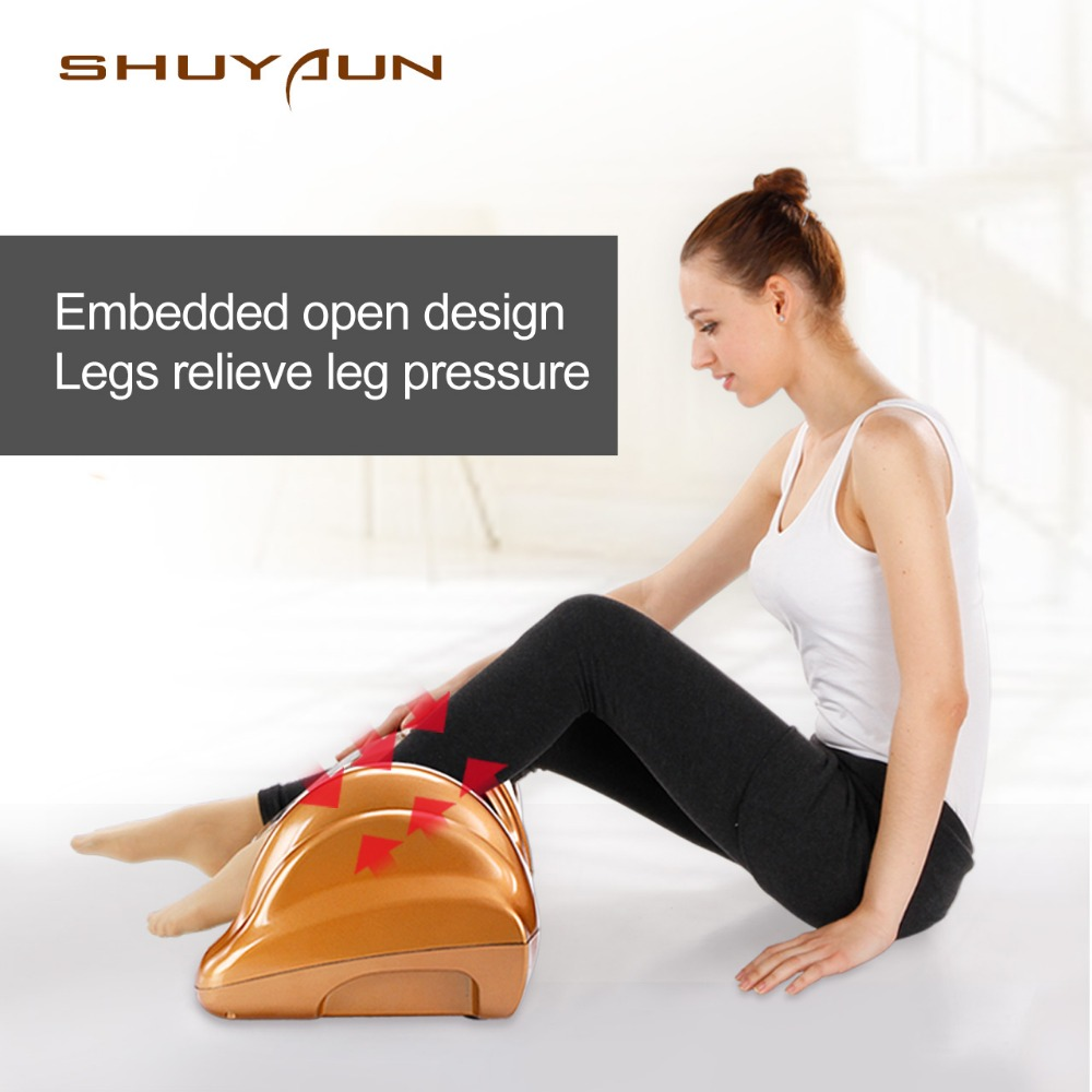 W09 Électrique Soins de Santé Antistress la libération des Muscles Rouleaux Thérapie Shiatsu Gua Sha Chaleur Machine de Massage des Pieds dispositif pieds fichier
