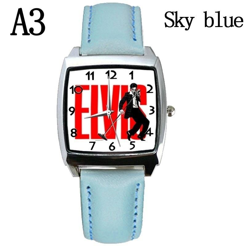 Watches Quartz Wristwatches 2019 New Fashion Style Boys And Girls Elvis Presley Watch Strap Watch Gift