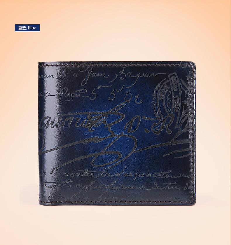 men\'s wallet blue