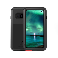 360 Degree Full Body Waterproof For Samsung Galaxy S10 Plus Metal Armor Shockproof Cover For Samsung S10e Case + Gorrila Glass