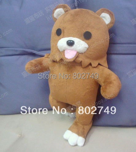 Handmade Bear dolls pedobear lourie plush toys lovely cute children gift christmas gift 30cm Pedobear Plush Toys