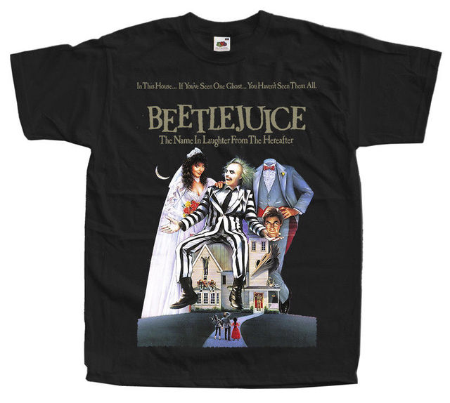 Beetlejuice Movie Poster T Shirt All Sizes S To 4Xl