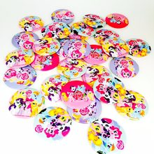 10pcs Cartoon Colorful Rainbow Horse Badges Pins Brooch Lapel Enamel Cute Patches For Clothes/Bags/Backpacks/Jackets(China)