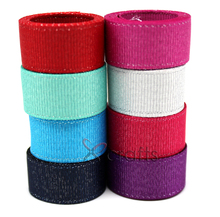 PPCrafts 3 6 9 16 22 38MM Double Silver Purl Grosgrain Ribbon Handmade Wedding DIY Crafts Tape U Pick Color Free Shipping