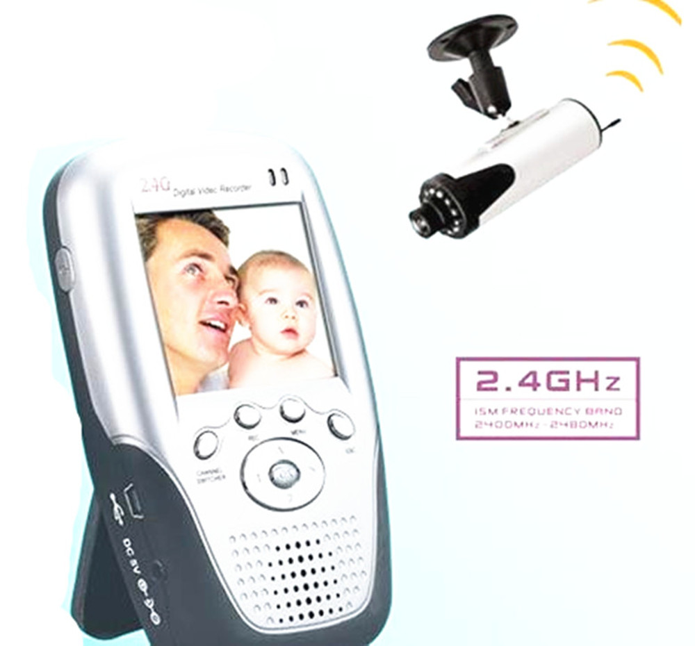 2.4Ghz Wireless Camera Take Photo and Video  Portable LCD Display Wireless Baby Monitor2.4Ghz Wireless Camera Take Photo and Video  Portable LCD Display Wireless Baby Monitor