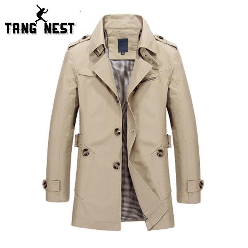 TANGNEST/весна 2018 куртки мужские тонкие дышащие повседневные Новый стиль Мужчины куртка 5 видов цветов Азиатский размер изнашивании куртка MWJ1554