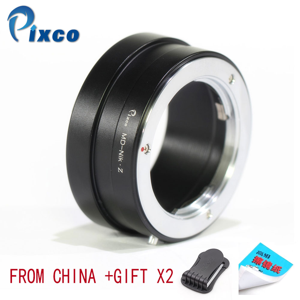 Pixco For Minolta MD-For Nikon Z Lens Adapter Suit MD to for Camera