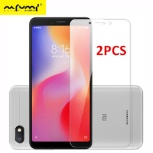 2PCS Tempered Glass For Xiaomi Redmi 6 6A Screen Protector Protective Phone Film