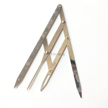 Buy 1 Box New uniquely Designed Golden Mean CALIPERS Eyebrow Microblading Permanent Makeup Ratio Measure Tool