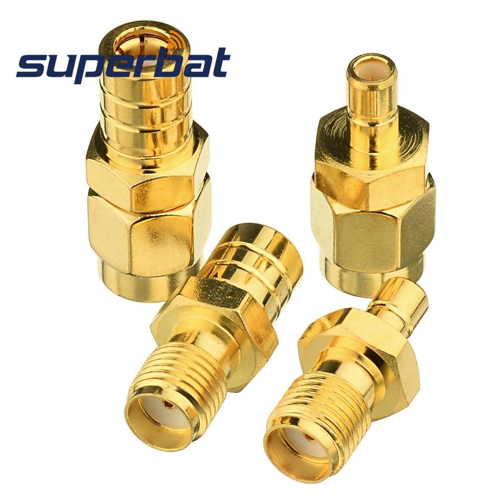 Superbat Satellite Radio Coax Adapter SMA To SMB Connector Kit 4 Type For Car Satellite SIRIUS XM DAB Radio Antenna Pigtail Cabl