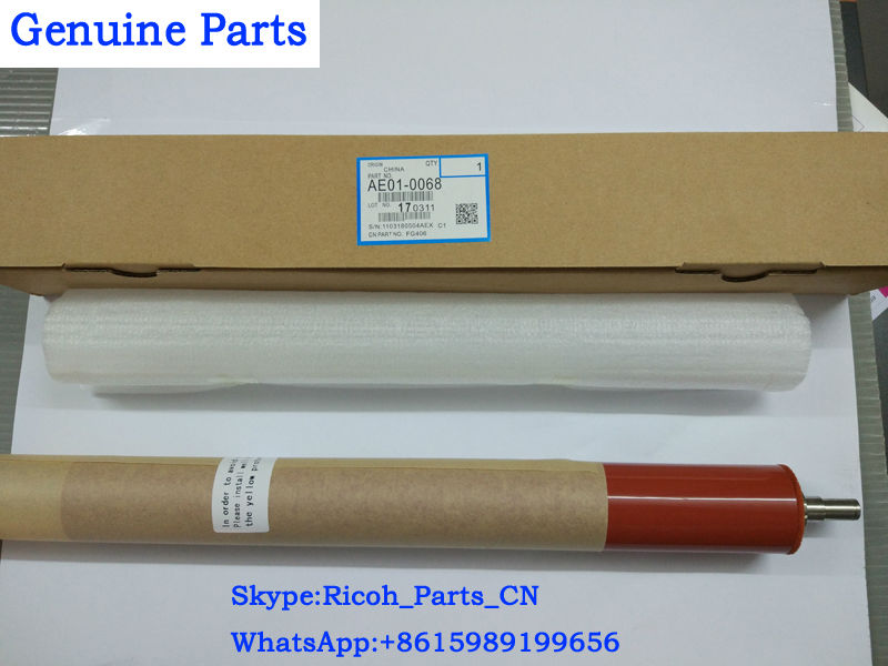 Compatible Parts AE010068 AE01-0068 Ricoh Aficio MP C4000 C5000 Fuser Heat Roller Upper Fuser Hot Roller Red Roller Copier Parts