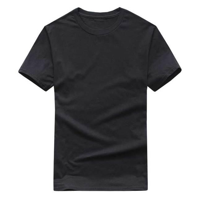 Solid Color T Shirt Mens...