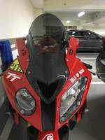 Motorcycle Wind Deflectors Wind shield Windshield WindScreen With Carbon Fiber For BMW S1000rr 2009 2014