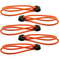 5pcs Powerful Strong Slingshot Elastic Rubber Latex Bands F Catapult Hunting Orange 1745 Free Shipping!