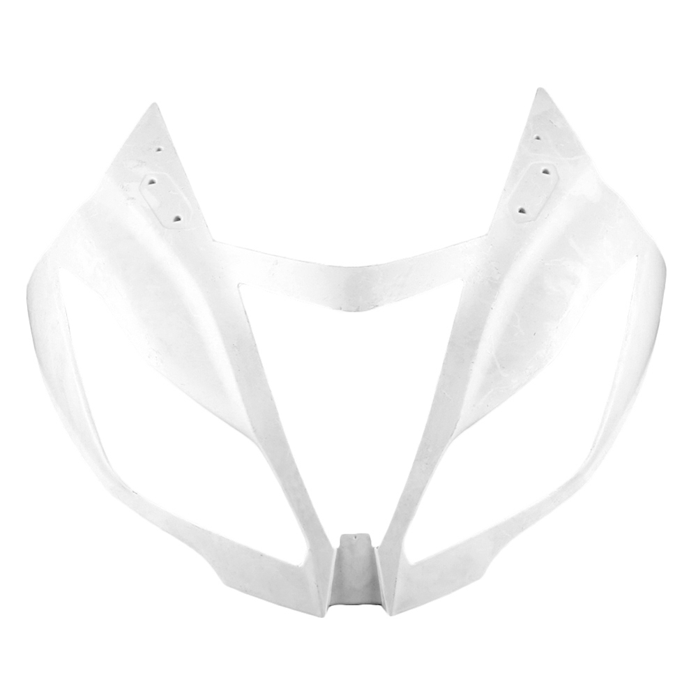 For Kawasaki Ninja ZX6R Upper Front Nose Fairing Cowl 2012 2013 Motorbike Accessories Injection Mold ABS Plastic Unpainted White mouse component plastic injection mold cnc machining household appliance mold ome mold