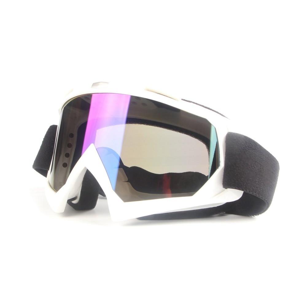 Мотоцикл очки Очки Off-Road Ветрозащитный Анти-туман Тактическая очки Лыжный Спорт очки Открытый UV400 защиты Детская безопасность