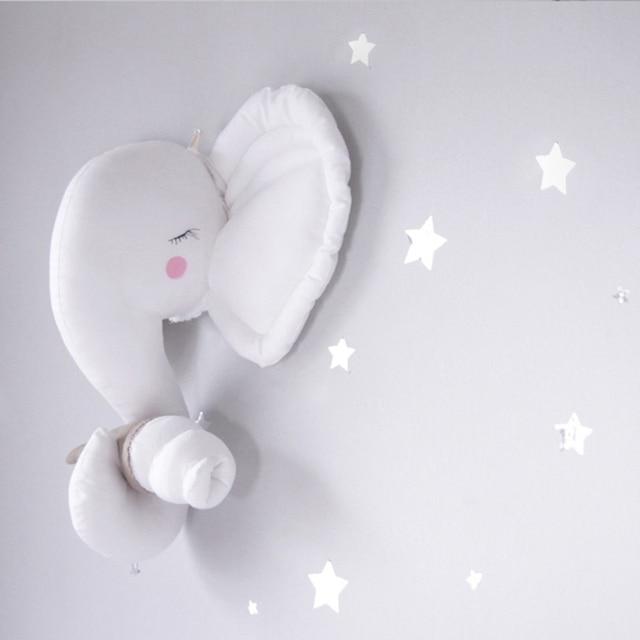 Handmade Diy Baby Nursery Felt Animal Head Wall Decoration Baby Girl