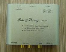 XiangSheng WM8761 DAC 24bit 96 KHz mini USB HIFI EXQUIS decoder TE7022 Coaxial RCA de salida de auriculares