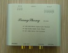 XiangSheng WM8761 24bit 96KHz mini USB DAC HIFI EXQUIS TE7022 decoder Coaxial RCA headphone output