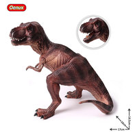 Oenux Jurassic Sitting Tyrannosaurus Rex T Rex Dinosaur Mouth Can Open Carnivorous Dinosaurio Toy Animal Action Figures For Kids