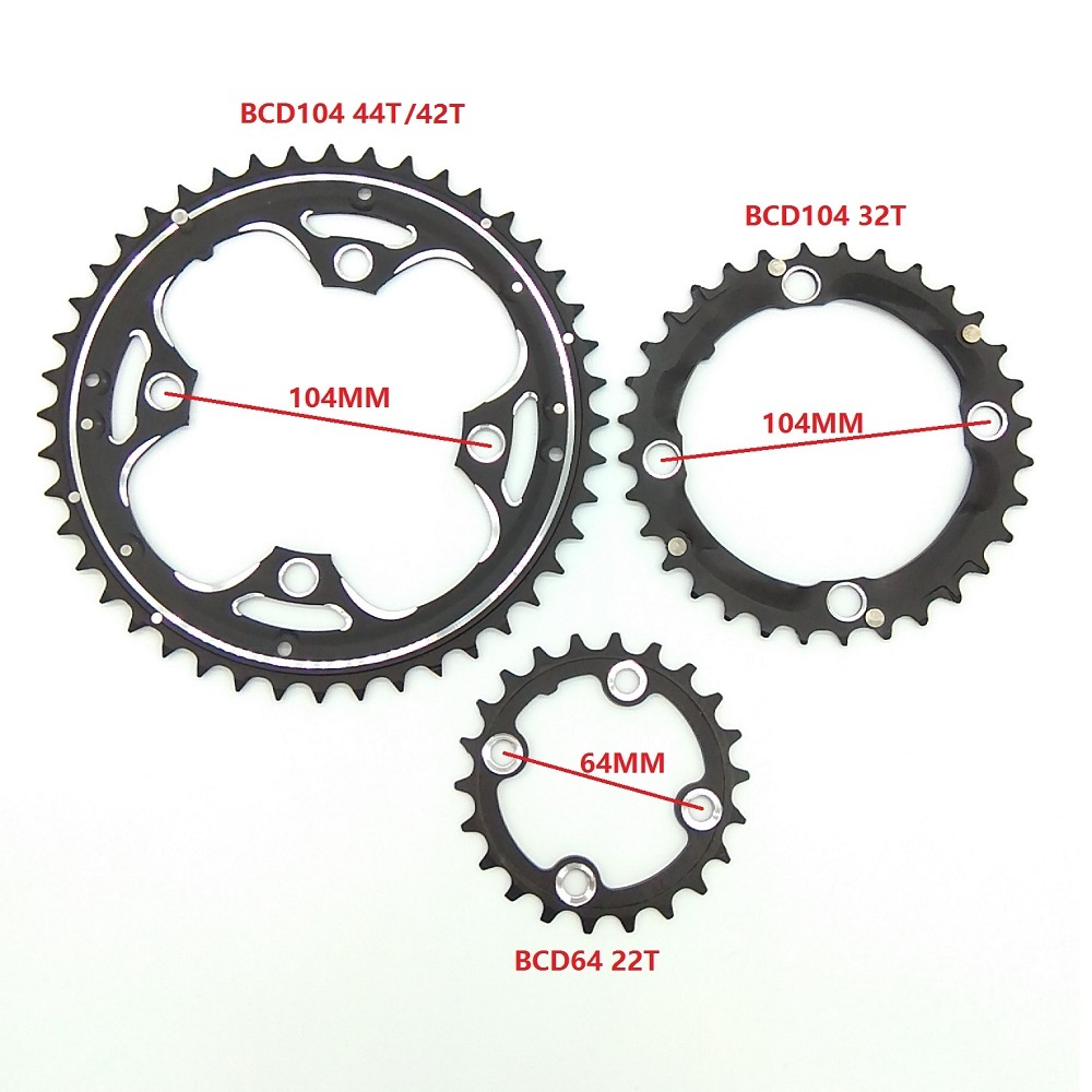 130mm Mountain Road Bike BCD Tooth Disc Crankset Chainring Cycling Parts