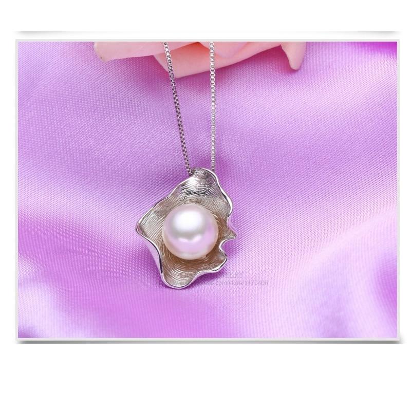 FENASY Süßwasser Perlen Schmuck Sets S925 Sterling Silber - Edlen Schmuck - Foto 5