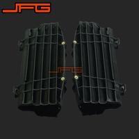 New Black Plastic Radiator Guard Protector For KTM SX125 SX150 SX F250 SXF350 SX F450 XC F250 XCF350 XC F450 2016 Motorcycle