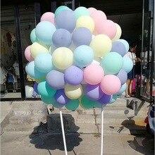 100 шт./лот 10 дюймов Макарон латексные шары для свадьбы, дня рождения украшения Globos Baby Shower девочка День рождения