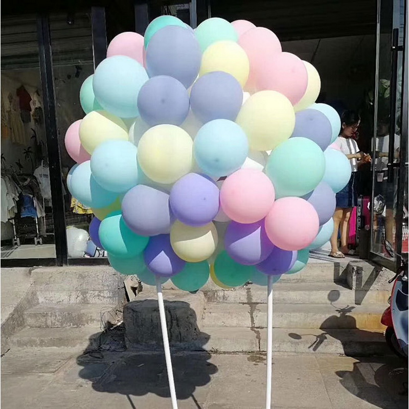 100pc/lot 10 Inch Macaron Latex Balloons Wedding Birthday Decoration Globos Baby Shower Girl Birthday Party