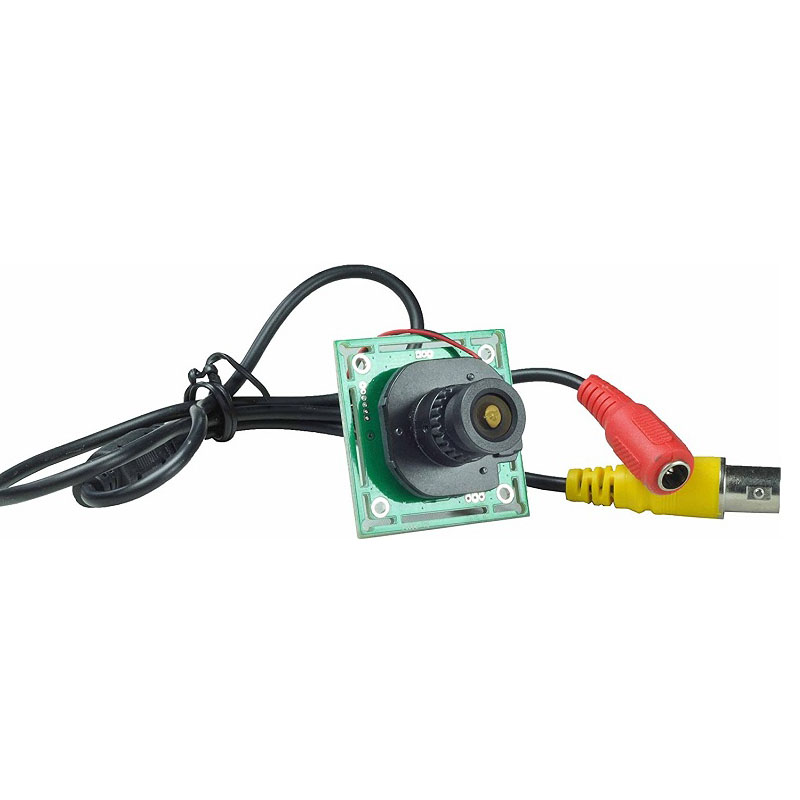 2.1mm Lens Wide Angle Mini Cmos Board Camera 1000TVL With IR-CUT CCTV Security Cam Moudle With Bonus Power Supply