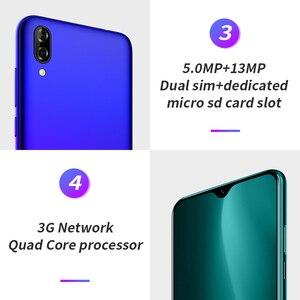 Image 2 - Blackview a60 6.1 19:9 1gb ram 16gb rom smartphone 4080mah bateria 13mp câmera traseira mt6580 quad core android 8.1 telefone móvel