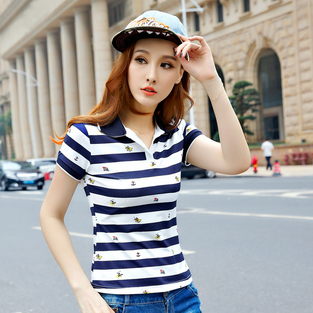 2016 Summer Women Ladies Brand Polo Shirt Cotton damen polo hemd polo femme cheval raph camisa Shirts Tops dames poloshirts
