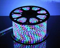 25 meter SMD 5050 AC220V RGB LED Strip Flexible Light 60 led/m Waterproof Led Tape LED Light With Power Plug