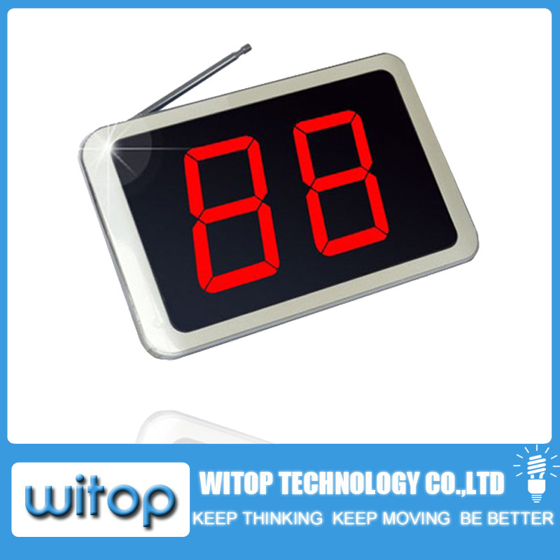 wireless calling system display panel wpe1000
