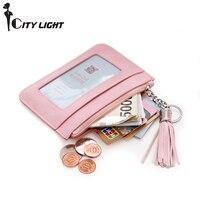 Pear Doll Purse Female Ms Short Thin Korean Small Fresh Small Wallet Zipper Coin Bag Key